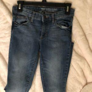 Standard blue jeans.